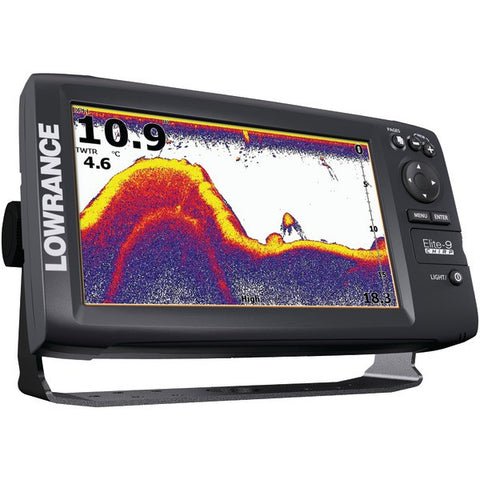Elite-9 CHIRP Base Combo Fishfinder/Chartplotter with 83/200kHz Transducer - LOWRANCE - 000-12181-001 - Humble Brothers