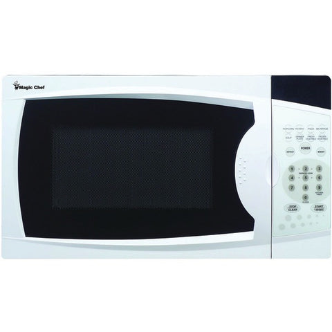 .7 Cubic-ft, 700-Watt Microwave with Digital Touch (White) - MAGIC CHEF - MCM770W - Humble Brothers