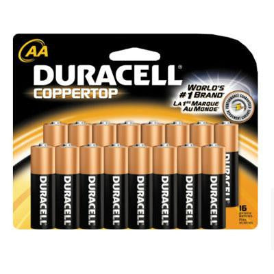 Duracell 16 Pack AA Batteries - Procter & Gamble - 00041333929484 - Humble Brothers