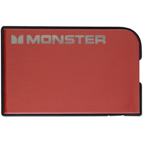 1,650mAh Monster Mobile(R) PowerCard(TM) V2 WW (Red) - MONSTER - 133345-00 - Humble Brothers