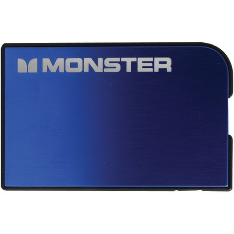 1,650mAh Monster Mobile(R) PowerCard(TM) V2 WW (Blue) - MONSTER - 133346-00 - Humble Brothers