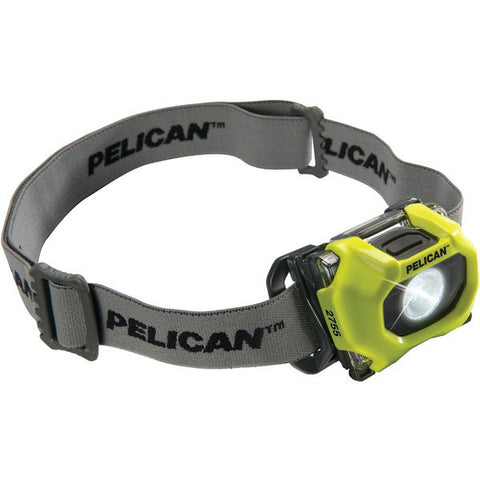 72-Lumen 2755 Safety Approved 3-Mode LED Headlight (Yellow) - PELICAN - 027550-0100-245 - Humble Brothers