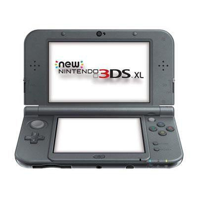 3DS SL System New Black - Nintendo - REDSVAAA - Humble Brothers