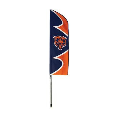 Bears Swooper Flag And Pole - Party Animal - SFCH - Humble Brothers