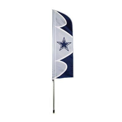 Cowboys Swooper Flag And Pole - Party Animal - SFDA - Humble Brothers