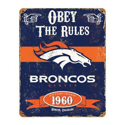 Broncos Vintage Sign - Party Animal - VSDB - Humble Brothers