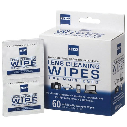Box Lens Wipes (60-Count) - ZEISS - 000000 2127 721 - Humble Brothers