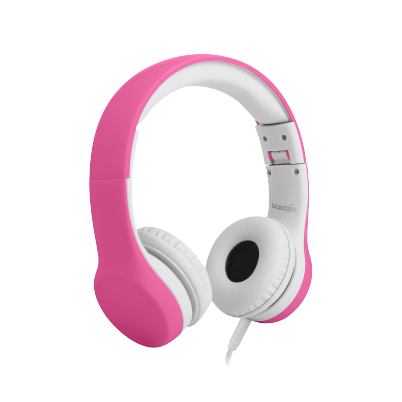 Lil Gadgets, LilGadgets, Lil Gadgets headphones, volume limited headphones, volume limited headphones for kids, volume limited headphones for children, best volume limited headphones for kids, best volume limited headphones for children, safe kids headphones, safe headphones for kids, safest headphones, safest headphones for kids, safest headphones for children, pink headphones, LilGadgets Connect+ Volume Limited Wired Headphones, Pink