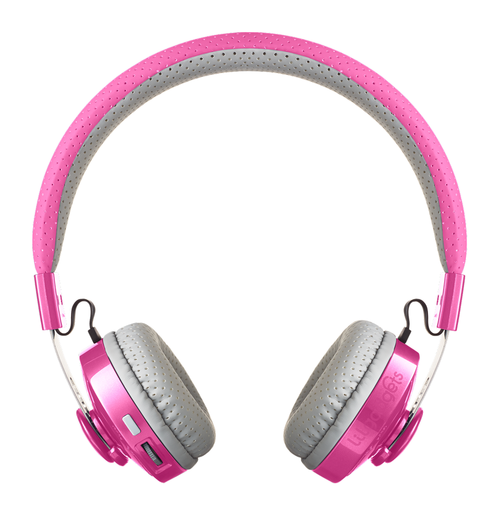 Lil Gadgets, LilGadgets, Lil Gadgets headphones, Kids headphones, LilGadgets Untangled Pro Children's Wireless Bluetooth Headphones for Kids, Pink LilGadgets Untangled Pro Children's Wireless Bluetooth Headphones for Kids, LilGadgets Untangled Pro Children's Wireless Bluetooth Headphones for Kids Pink, Cool kids headphones, cool headphones for kids, awesome headphones for kids, shareport, pink headphones for kids, wireles