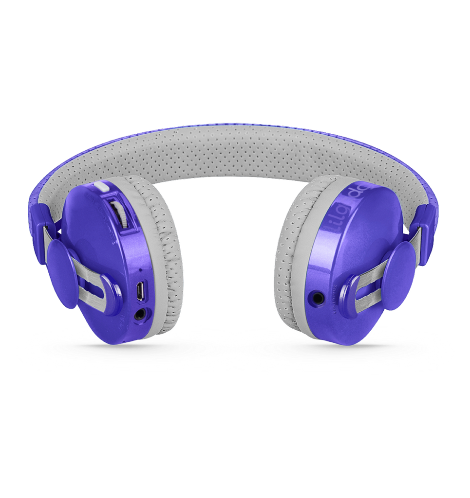 Lil Gadgets, LilGadgets, Lil Gadgets headphones, Kids headphones, LilGadgets Untangled Pro Children's Wireless Bluetooth Headphones for Kids, Purple LilGadgets Untangled Pro Children's Wireless Bluetooth Headphones for Kids, LilGadgets Untangled Pro Children's Wireless Bluetooth Headphones for Kids Purple, Cool kids headphones, cool headphones for kids, awesome headphones for kids, shareport, purple headphones for ki