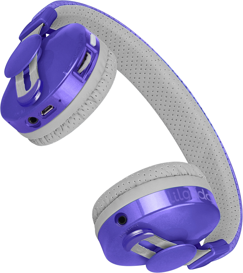 Lil Gadgets, LilGadgets, Lil Gadgets headphones, Kids headphones, LilGadgets Untangled Pro Children's Wireless Bluetooth Headphones for Kids, Purple LilGadgets Untangled Pro Children's Wireless Bluetooth Headphones for Kids, LilGadgets Untangled Pro Children's Wireless Bluetooth Headphones for Kids Purple, Cool kids headphones, cool headphones for kids, awesome headphones for kids, shareport, purple headphones for kids, wireless headphones for kids, bluetooth headphones for kids