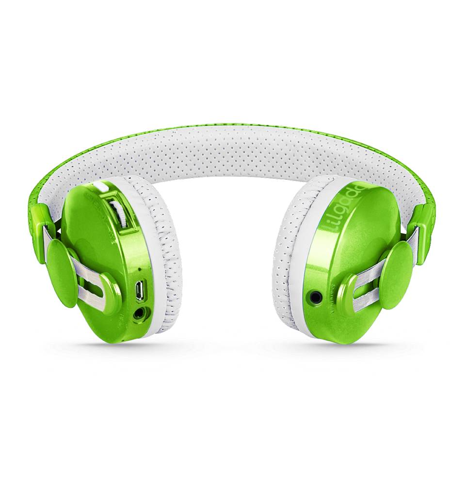 Lil Gadgets, LilGadgets, Lil Gadgets headphones, Kids headphones, LilGadgets Untangled Pro Children's Wireless Bluetooth Headphones for Kids, Green LilGadgets Untangled Pro Children's Wireless Bluetooth Headphones for Kids, LilGadgets Untangled Pro Children's Wireless Bluetooth Headphones for Kids Green Cool kids headphones, cool headphones for kids, awesome headphones for kids, shareport, green headphones for kids, wi
