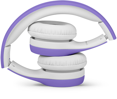 Lil Gadgets, LilGadgets, Lil Gadgets headphones, best headphones for travel, foldable headphones for kids, foldable headphones, best kids headphones for planes, best kids headphones on planes, best travel headphones for kids, compact, compact headphones for kids, purple headphones, Connect+, LilGadgets Connect+ Volume Limited Wired Headphones for Children