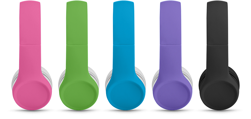 Lil Gadgets, LilGadgets, Lil Gadgets headphones, Kids headphones, LilGadgets Connect+ Volume Limited Wired Headphones, cool kids headphones, cool headphones for kids, awesome headphones for kids, shareport, purple headphones for kids, green headphones, pink headphones, blue headphones, black headphones, purple headphones, shareport, no splitter needed, wired kids headphones