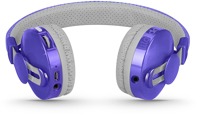Lil Gadgets, LilGadgets, Lil Gadgets headphones, Kids headphones, LilGadgets Untangled Pro Children's Wireless Bluetooth Headphones for Kids, Purple LilGadgets Untangled Pro Children's Wireless Bluetooth Headphones for Kids, LilGadgets Untangled Pro Children's Wireless Bluetooth Headphones for Kids Purple, shareport, purple headphones for kids, wireless headphones for kids, bluetooth headphones for kids, LilGadgets Untangled Pro, Untangled Pro, help, support, troubleshoot