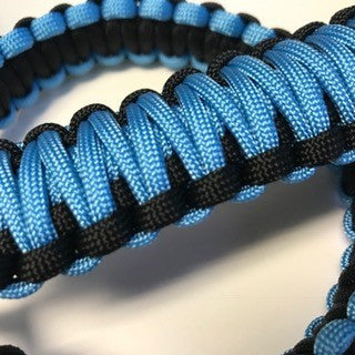 Jeep Wrangler YJ Deluxe Paracord Set in Carolina Blue