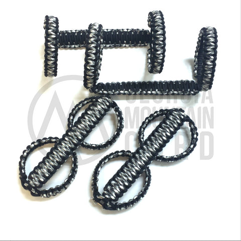 Jeep Wrangler Paracord Double Roll-bar Grab Handles