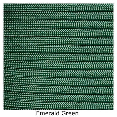 Jeep Wrangler TJ/LJ Deluxe Paracord Set in Emerald Green