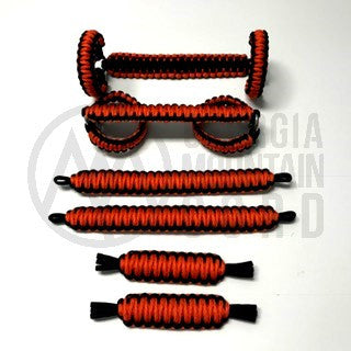 Jeep Wrangler TJ/LJ Deluxe Paracord Set in International Orange