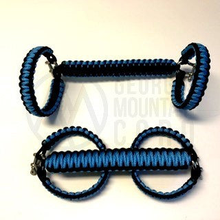 Jeep Wrangler YJ Roll-bar Handles in Carolina Blue