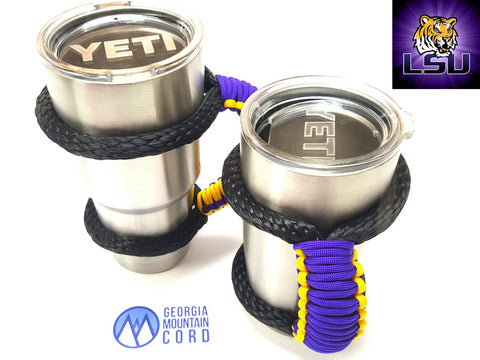 Yeti Handle in LSU Colors