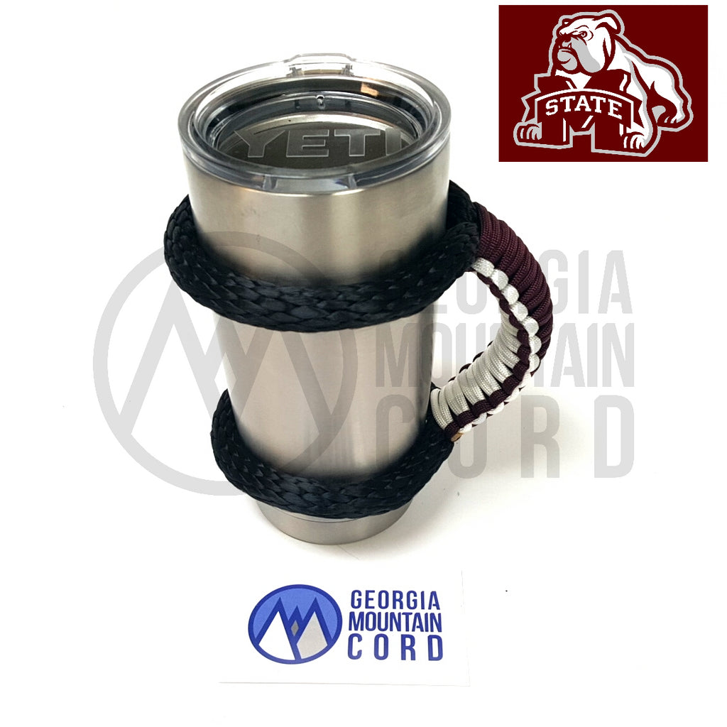 Yeti Handle in Mississippi State Colors