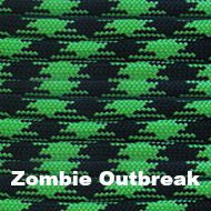 Jeep Wrangler YJ Deluxe Paracord Set in Zombie Outbreak