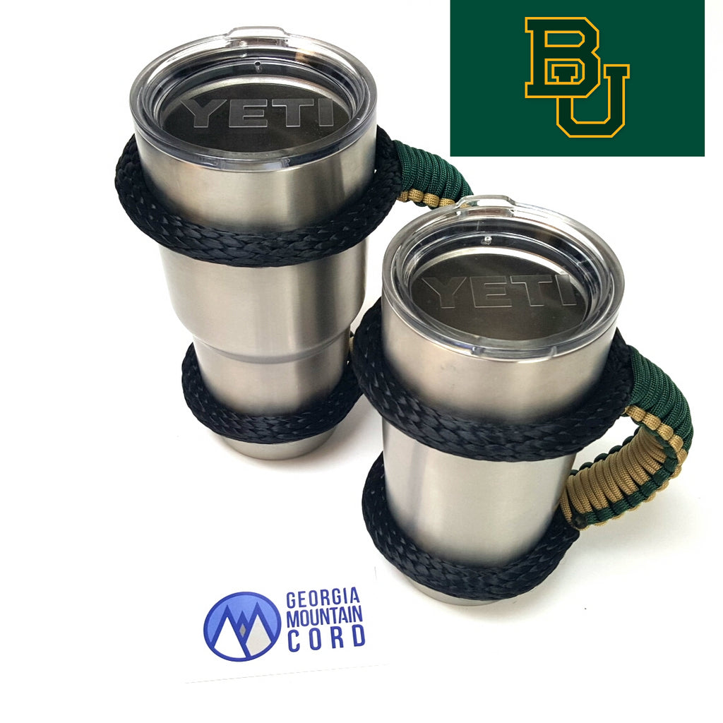 Yeti Handle in BAYLOR BEARS colors