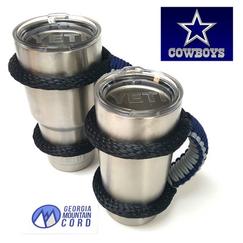 YETI Handle in  Dallas Cowboys colors