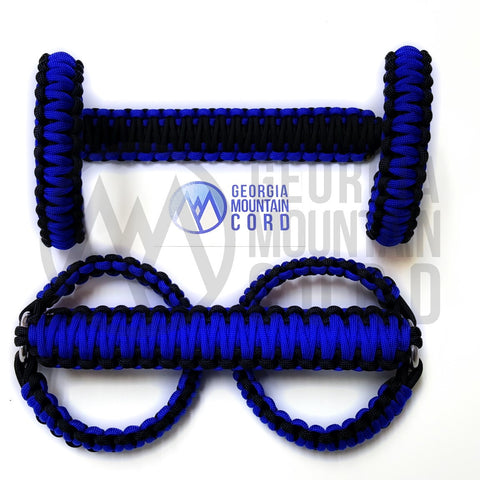 Jeep Wrangler YJ Roll-bar Handles in Electric Blue