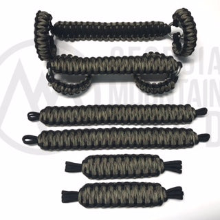 Jeep Wrangler TJ/LJ Deluxe Paracord Set in Green Camo