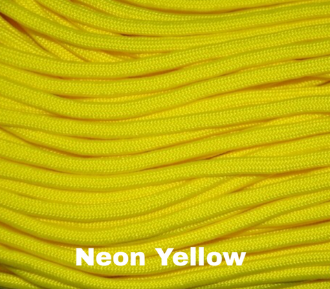 Jeep Wrangler TJ/LJ Deluxe Paracord Set in Neon Yellow