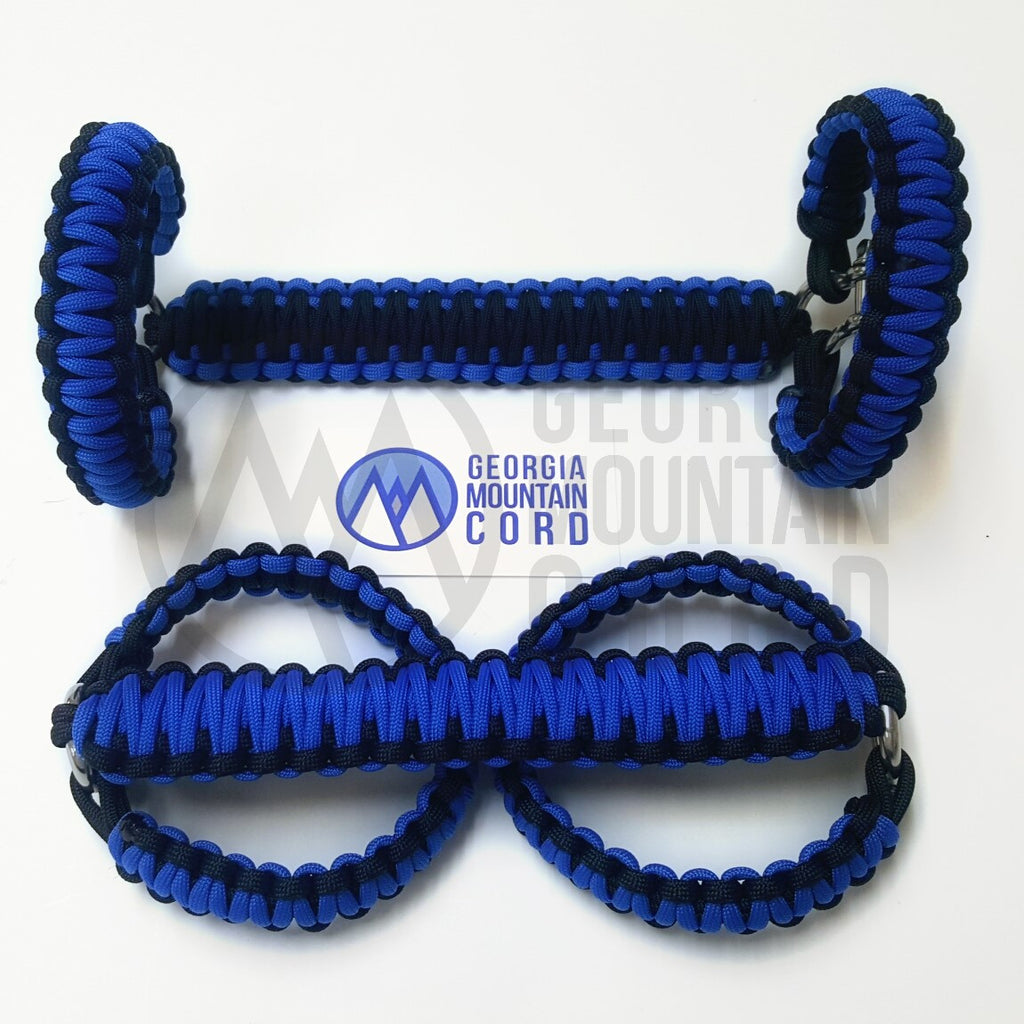 Jeep Wrangler YJ Roll-bar Handles in Royal Blue