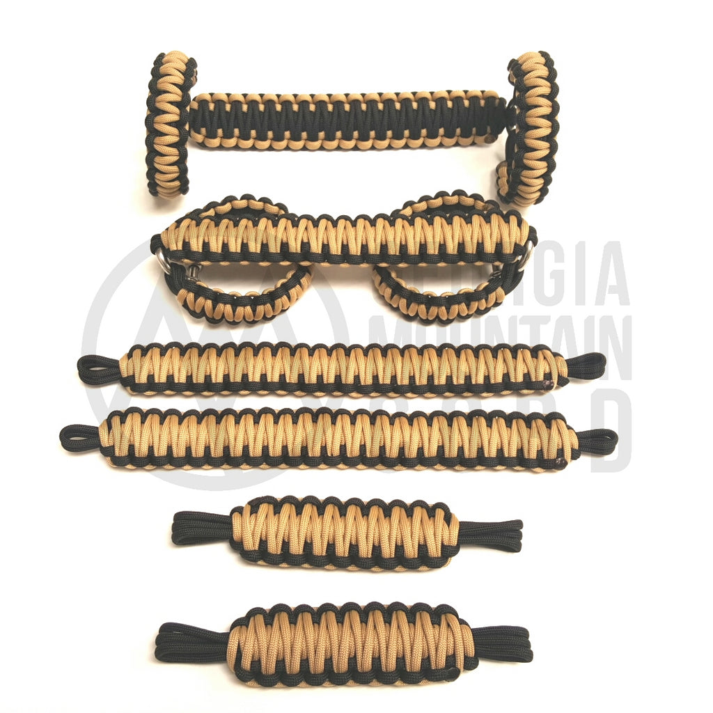 Jeep Wrangler TJ/LJ Deluxe Paracord Set in Tan