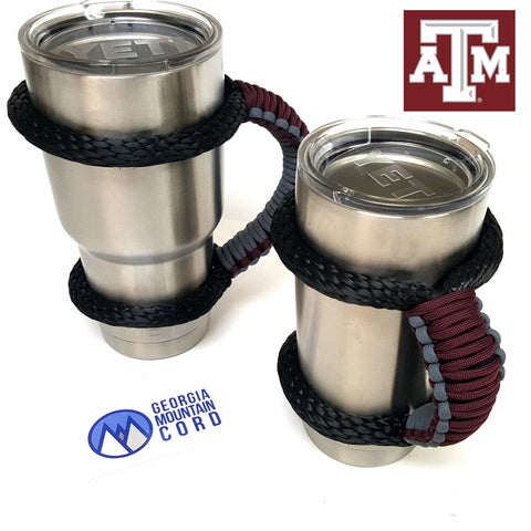 Yeti Handle in Texas A&M Aggies  colors
