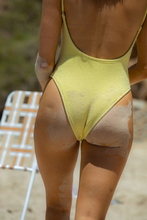 Yellow Missy One Piece