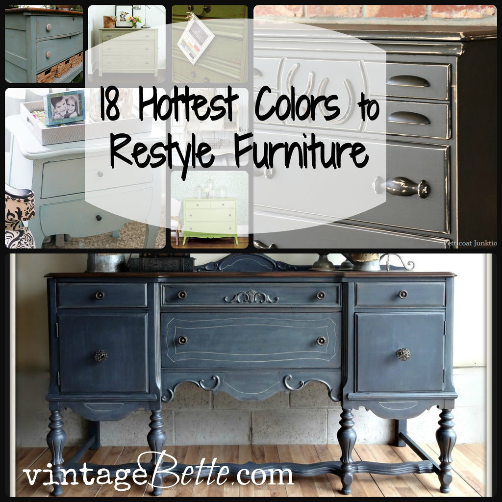 18 Hottest Colors to Paint your Furniture