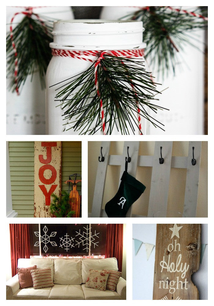 10 Painted Christmas Projects