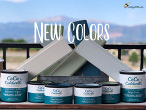 Our Newest Colors of CeCe Caldwell's Chalk + Clay Paints