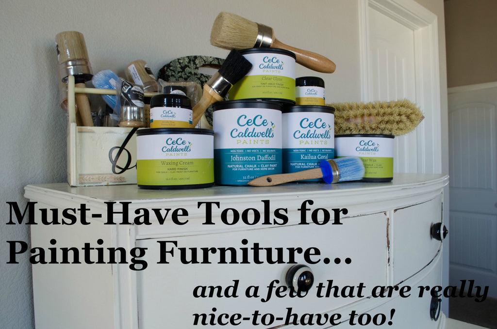4 Must Have Furniture Painting Tools