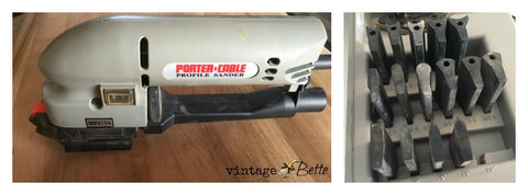 profile detail sander by porter cable for refinishing furniture and painted furniture projects