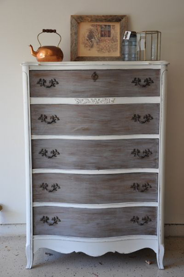 Dresser Painted with Miss Mustard Seed