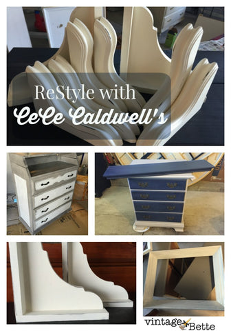 Restyle with CeCe Caldwell's Chalk + Clay Paints in Colorado Springs with Vintage Bette