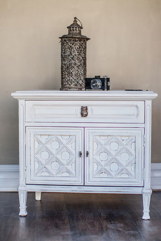 try simply white by cece caldwells paints for a shabby chic look or a french country feel
