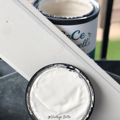 Alabaster White by CeCe's Paints is a great option