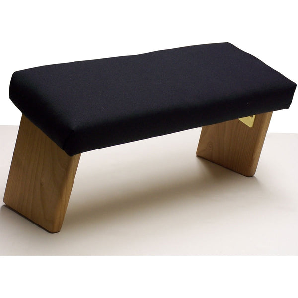 Folding Meditation Bench by Ananda Woodworking