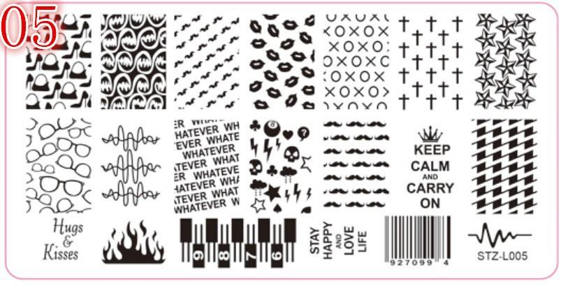 Barcodes & Stiletto's Stamping Plate (med)