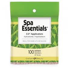 "Spa Essentials 3.5"" Applicators 100ct"