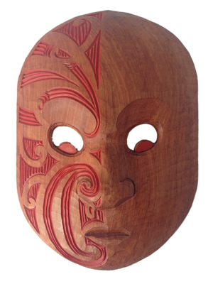 New Zealand Maori wooden Parata hand carved artwork and gifts