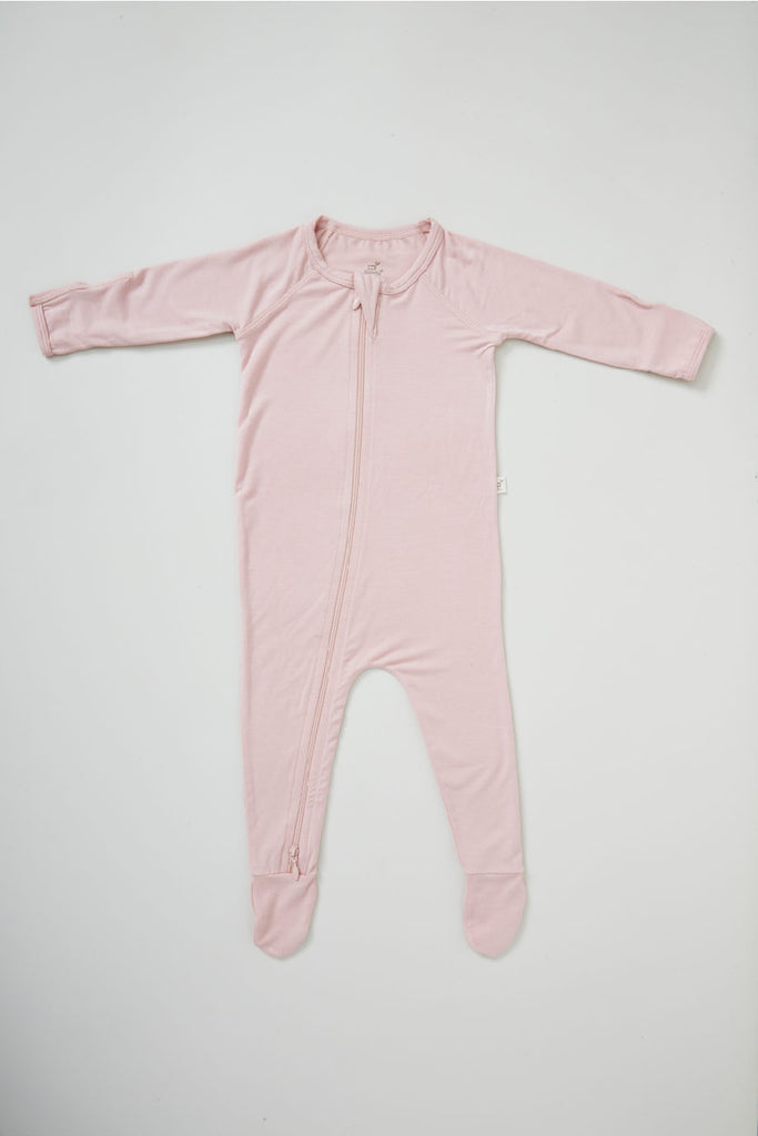 Pink Baby Long Sleeve Onesie - Boody Baby Organic Bamboo Eco Wear